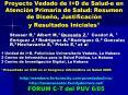 Proyecto Vedado de I D de Salud-e en Atenci PowerPoint PPT Presentation