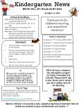 Kindergarten News       with Mrs. Holly, Mrs. Holliday and Miss Brandi PowerPoint PPT Presentation