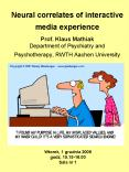 Neural correlates of interactive media experience PowerPoint PPT Presentation