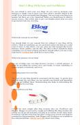 Start A Blog With Ease and Confidence PowerPoint PPT Presentation