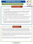 CCGPS Mathematics PowerPoint PPT Presentation
