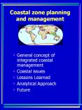 Coastal zone planning and management PowerPoint PPT Presentation