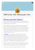 FBI Green dot money virus- isupport365 PowerPoint PPT Presentation
