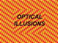 OPTICAL ILLUSIONS PowerPoint PPT Presentation