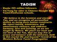 TAOISM PowerPoint PPT Presentation