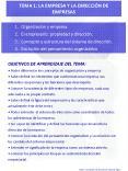 TEMA 1 LA EMPRESA Y LA DIRECCI PowerPoint PPT Presentation
