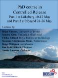 PhD course in Controlled Release Part 1 at L PowerPoint PPT Presentation