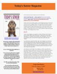 Today's Senior Magazine PowerPoint PPT Presentation