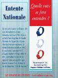 Entente Nationale PowerPoint PPT Presentation
