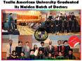 Texila American University Graduated its Maiden Batch of Doctors (1) PowerPoint PPT Presentation