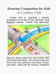 Drawing Competition for Kids at Country Club PowerPoint PPT Presentation