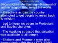 Second Great Awakening PowerPoint PPT Presentation