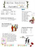 Skyline Newsletter PowerPoint PPT Presentation