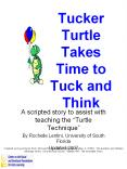 Tucker Turtle Takes Time to Tuck and Think PowerPoint PPT Presentation