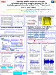 Statistical pre-processing and analyses of hydrometeorologic time series in a geologic clay site (methodology and first results for Mont Terri PowerPoint PPT Presentation