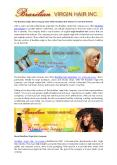 The Brazilian Virgin Hair Company Now Offers Brazilian Hair Weaves in Versatile Pattern PowerPoint PPT Presentation