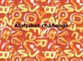 Alphabet challenge PowerPoint PPT Presentation