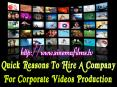 Quick Reasons To Hire A Company For Corporate Videos Production PowerPoint PPT Presentation