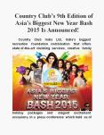 Country Club's 9th Edition of Asia's Biggest New Year Bash 2015 Is Announced! PowerPoint PPT Presentation