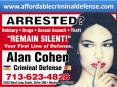Defense lawyer, Criminal Attorney and Sexual assault Lawyer Houston TX (1) PowerPoint PPT Presentation