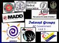 Interest Groups AP Government Unit 3 PowerPoint PPT Presentation