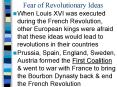 Fear of Revolutionary Ideas PowerPoint PPT Presentation