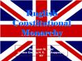 English Constitutional Monarchy PowerPoint PPT Presentation