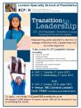Empowering junior paediatric doctors to manage transition into a leadership role as a new registrar PowerPoint PPT Presentation