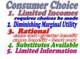 Consumer Choice PowerPoint PPT Presentation