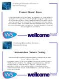 Challenge Biomedical Science  PowerPoint PPT Presentation