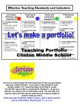 Teaching Portfolio PowerPoint PPT Presentation