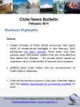 Chile News Bulletin February 2011 PowerPoint PPT Presentation