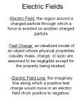 Electric Fields PowerPoint PPT Presentation