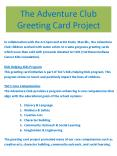 The Adventure Club Greeting Card Project PowerPoint PPT Presentation