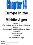 Europe in the Middle Ages PowerPoint PPT Presentation