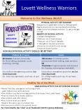 Lovett Wellness Warriors PowerPoint PPT Presentation