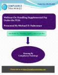Webinar On Handling Supplemental Pay Under the FLSA PowerPoint PPT Presentation