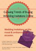 Growing Trends of Buying Wedding Invitations Online PowerPoint PPT Presentation
