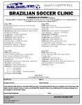 BRAZILIAN SOCCER CLINIC PowerPoint PPT Presentation