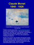 Claude Monet 1840 - 1926 PowerPoint PPT Presentation