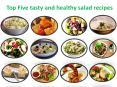 Top Five Variety salads PowerPoint PPT Presentation