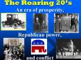 The Roaring 20 PowerPoint PPT Presentation