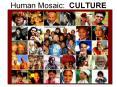 Human Mosaic: CULTURE PowerPoint PPT Presentation
