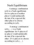 Nash Equilibrium PowerPoint PPT Presentation