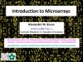 Introduction to Microarrays PowerPoint PPT Presentation