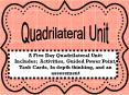 Quadrilateral Unit PowerPoint PPT Presentation