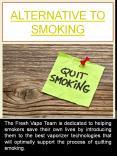 Alternative To Smoking PowerPoint PPT Presentation