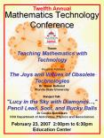 Mathematics Technology Conference PowerPoint PPT Presentation