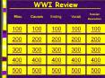 WWI Review PowerPoint PPT Presentation