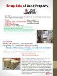 Scrap Sale of Used Property PowerPoint PPT Presentation